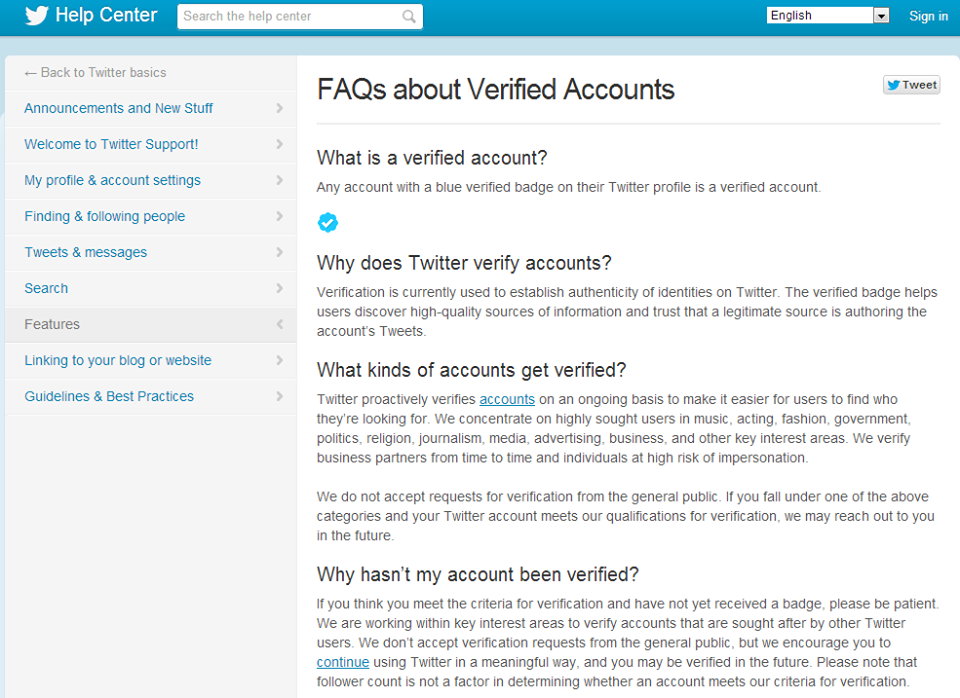 How to Get a Verified Account on Twitter