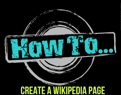 How to Create a Wikipedia Page ?